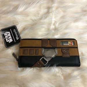 NWT Disney Star Wars loungefly wallet